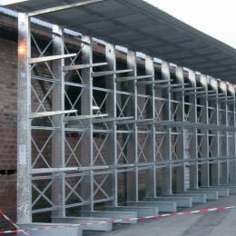 Mise en conformité des rayonnages, cantilevers et racks pour CRH Ile-de-France