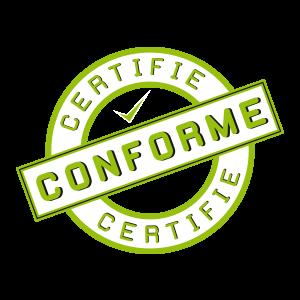 stockage certifié aux normes